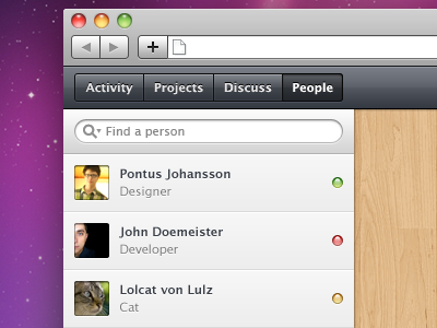 Project Collaboration App by Pontus Johansson