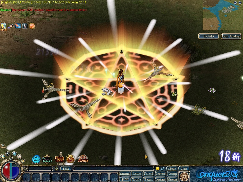 Dreamland Online Client Screenshots, screen capture - Softpedia