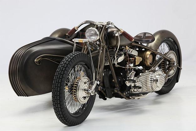 Fancy - Harley-Davidson sidecar