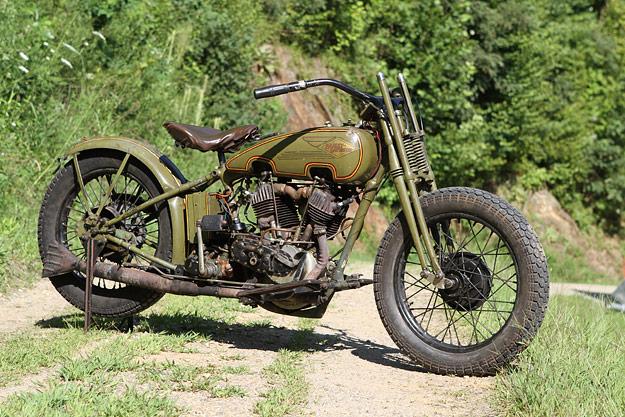 Fancy - 1962 Harley Davidson Racer