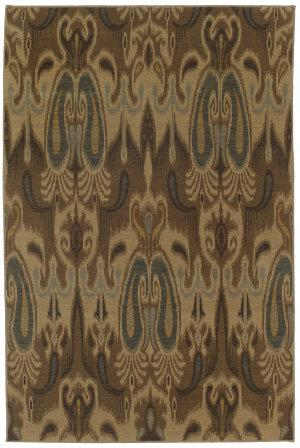RugStudio presents Karastan Bellingham Ferndale Celedon 37150-17207 Machine Woven, Good Quality Area Rug