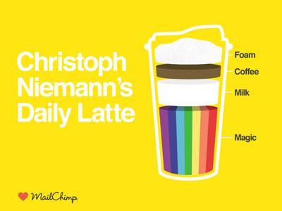 Mailchimp Creative Mornings sponsorship slide by Aaron Robbs