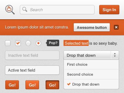 ProfilCredit Redesign - UI kit by Alexandre Deschamps