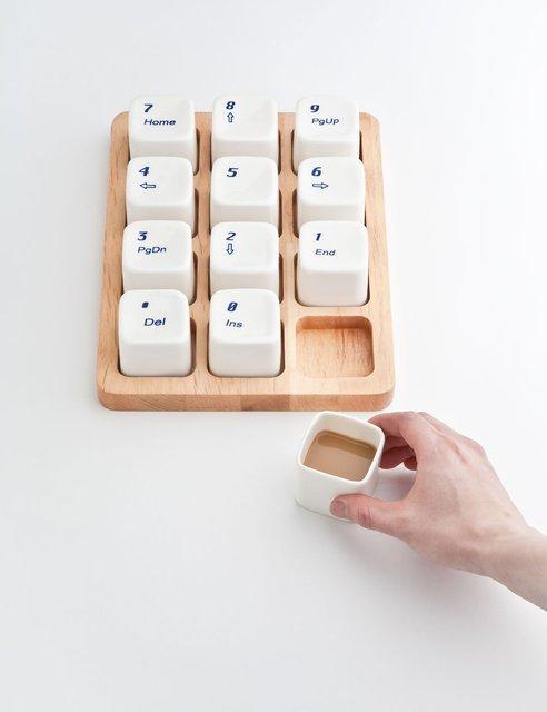 Fancy - Keyboard Coffee Cups by E Square
