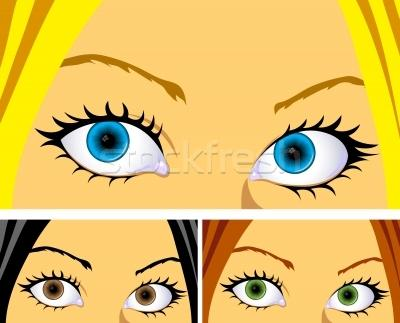 Google Image Result for http://stockfresh.com/files/c/cidepix/m/26/998105_stock-photo-colourful-eyes-and-hair.jpg