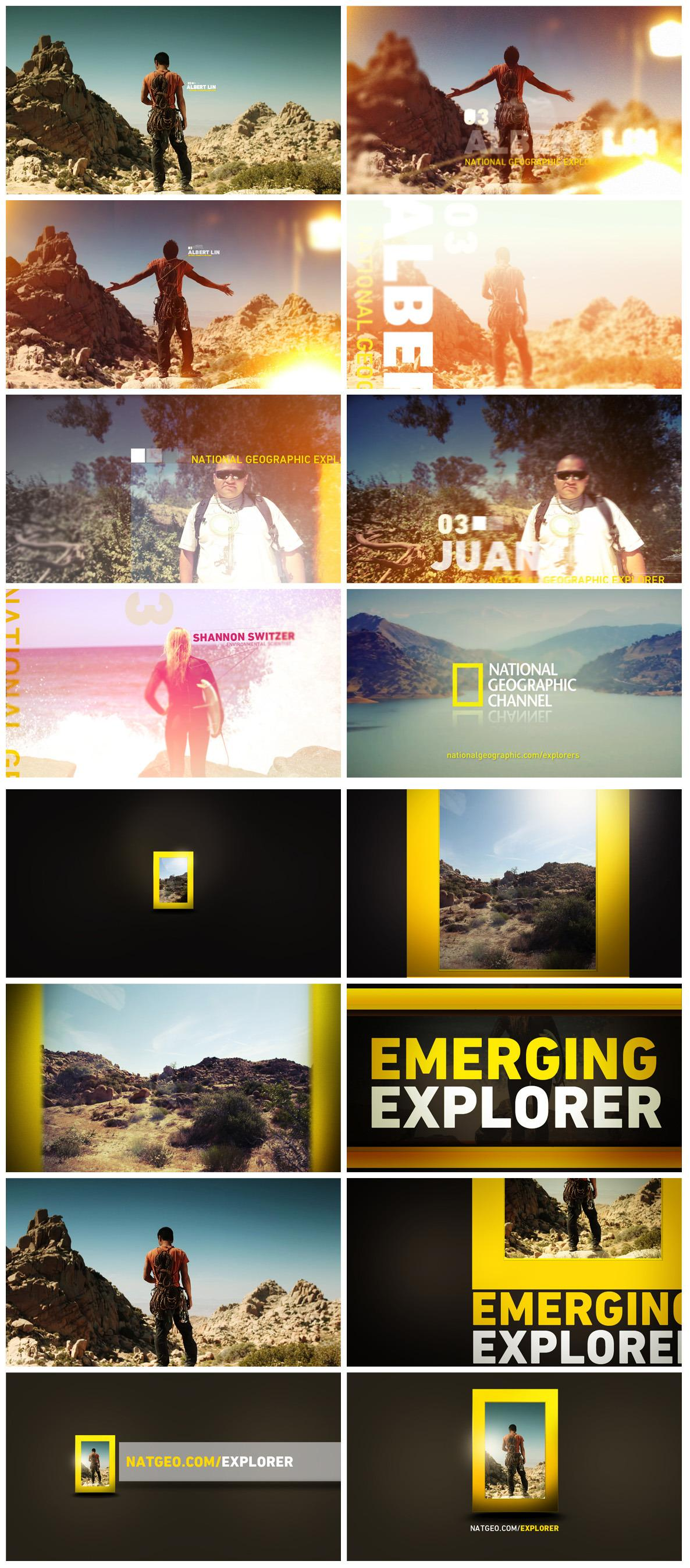 National Geographic Explorer - Nate Howe Freelance Design + Art Direction