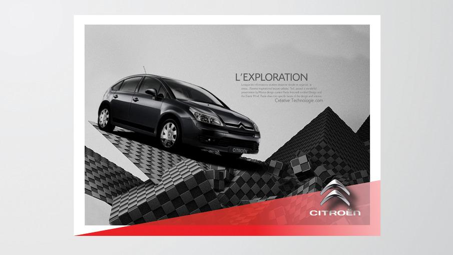 Citroën Visual Brand Identity - le Paris New york