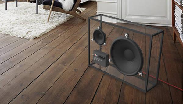Transparent speaker - Boing Boing