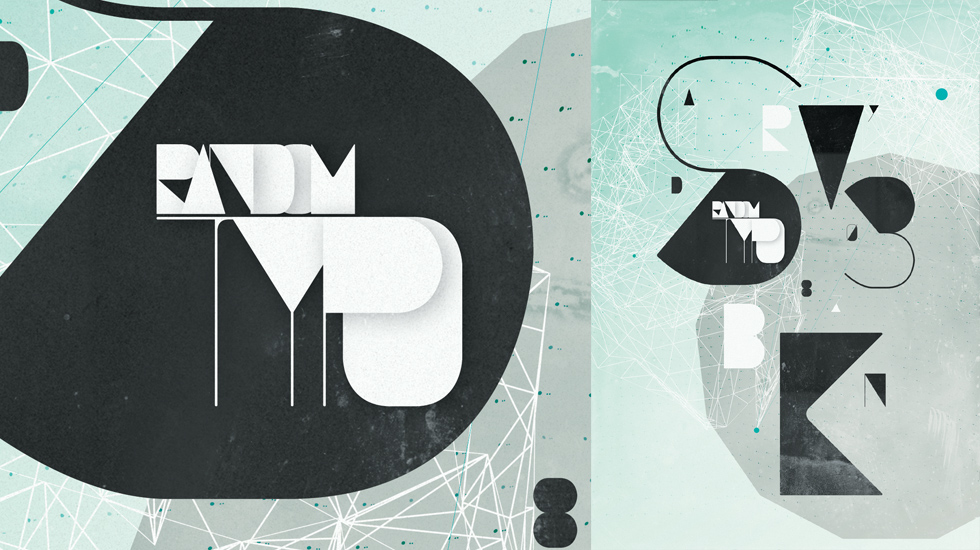 "TypoFlatâ""¢ / experimental typefaces & then some"