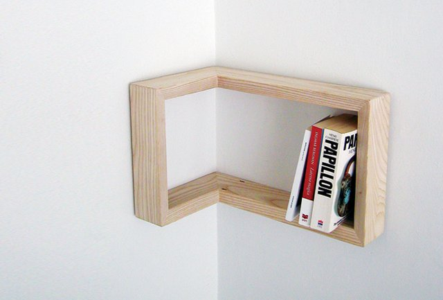 Fancy - Kulma Corner Shelf by Martina Carpelan