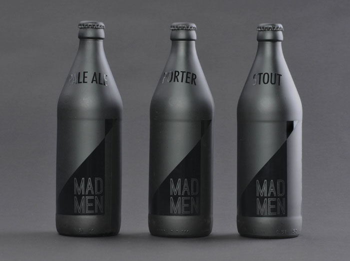 Student Spotlight: Mad Men Pale Ale - The Dieline: The World's #1 Package Design Website -