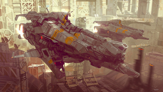 Concept Art World » Daniel Graffenberger