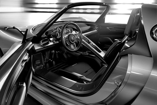 Porsche 918 Spyder Hybrid Concept