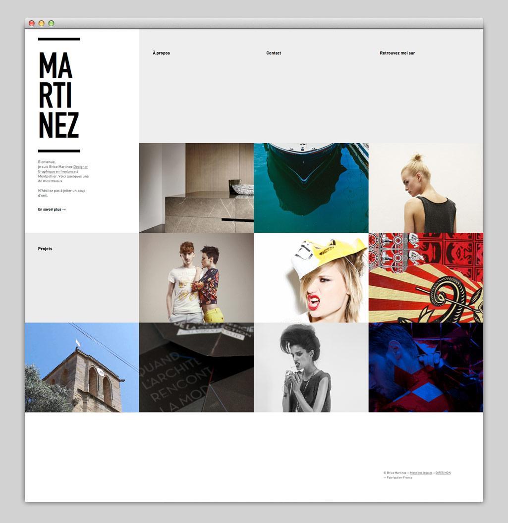 Websites — Brice Martinez