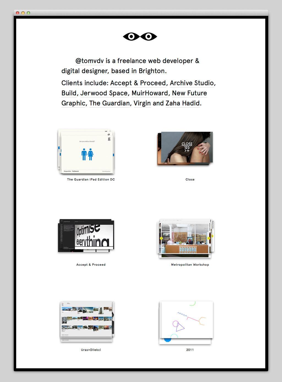 Websites — @tomvdv