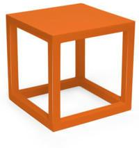 Jonathan Adler - Orange Lacquer Cube Side Table - Small from Amara Living | Side tables - furnish.co.uk