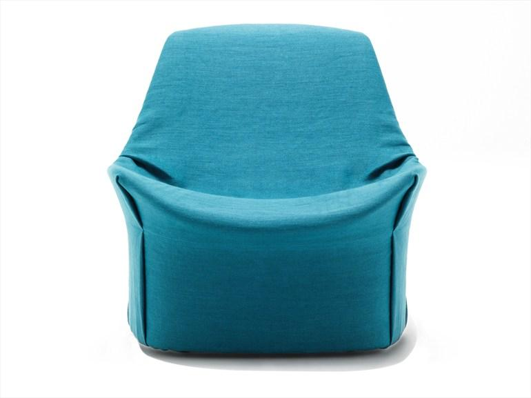 UPHOLSTERED ARMCHAIR WITH REMOVABLE COVER KIRU BY LIVING DIVANI | DESIGN GIOPATO & COOMBES