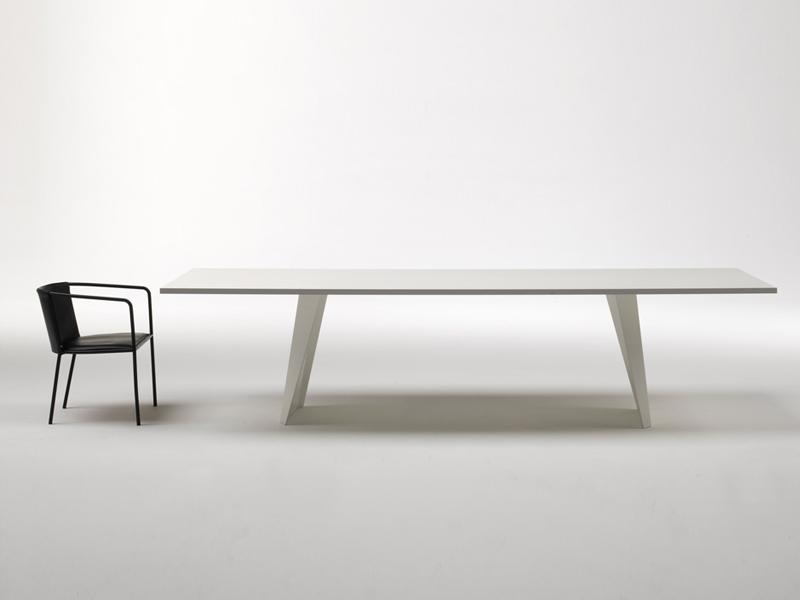 RECTANGULAR TABLE WEDGE BY LIVING DIVANI
