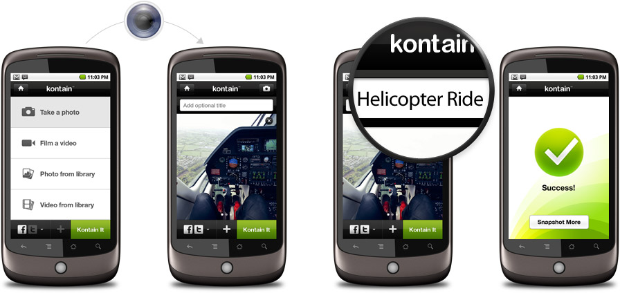 Fi Case study: Kontain Android Application