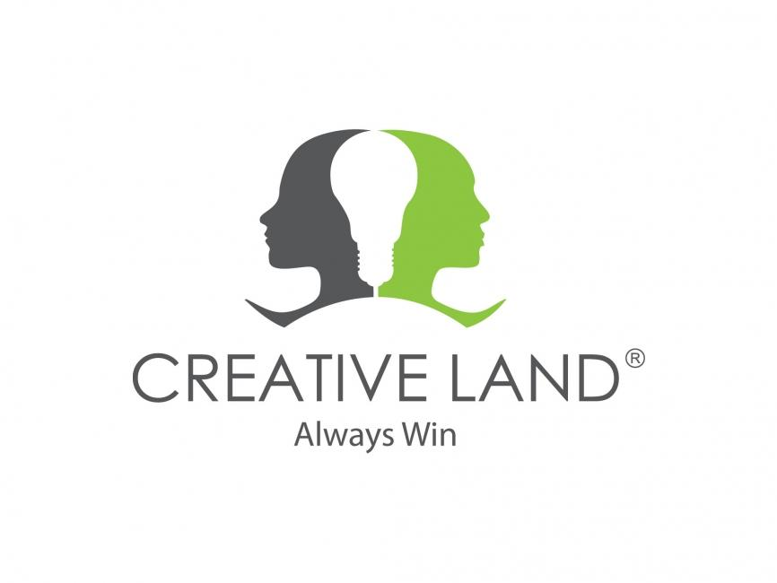 Creativeland Company Vector Logo - COMMERCIAL LOGOS - Advertising ...