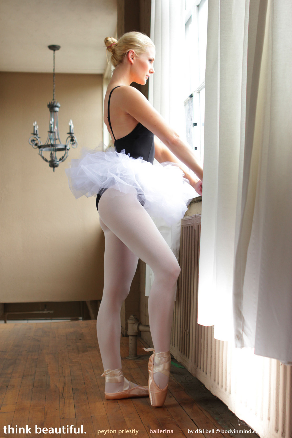 Fine Art Teens - Peyton Priestly Ballerina From Body in Mind