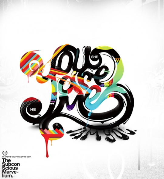 Cool Typography Artworks | Cruzine