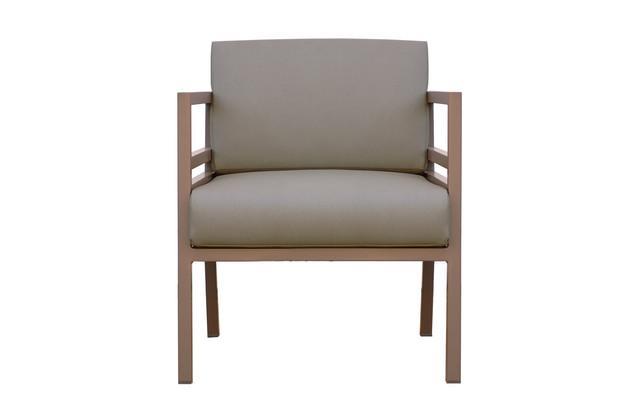 ZUDU lounge 1-seat (Alu) Stamskin cushion included :: MAMAGREEN™ Outdoor Furniture Sydney Australia