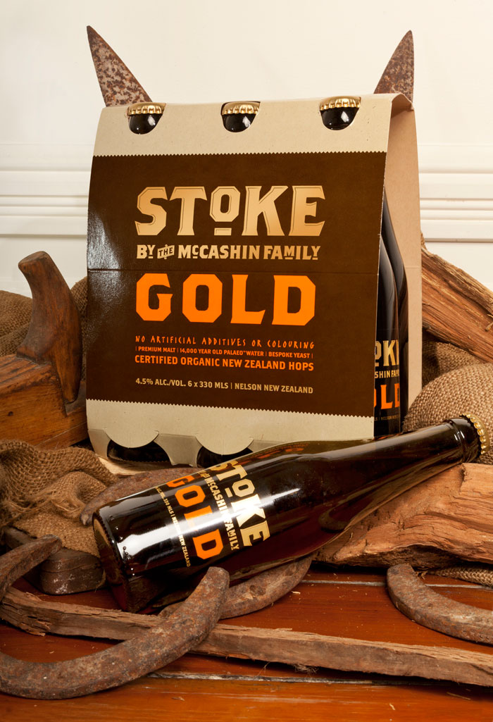 Stoke Beer - TheDieline.com - Package Design Blog