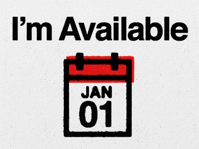 I'm Available January 1st by Luke Beard