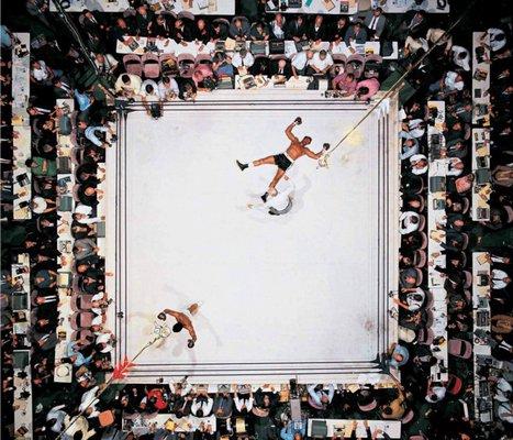 Jay Mug — Muhammad Ali vs. Cleveland Williams, 1966