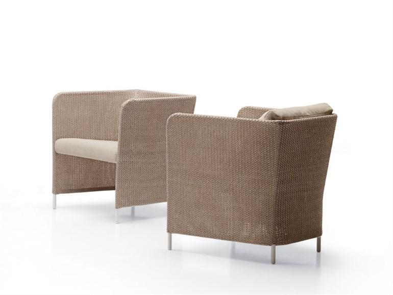 ARMCHAIR TEATIME COLLECTION BY PAOLA LENTI | DESIGN FRANCESCO ROTA
