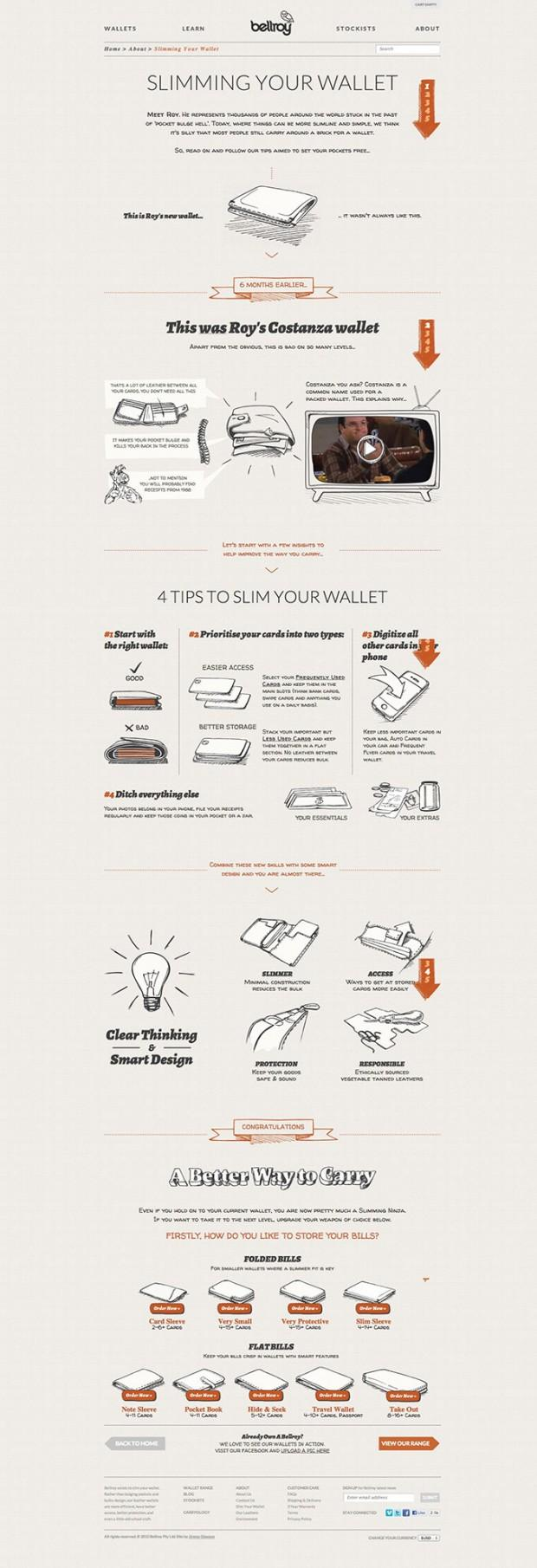 Best About Pages – Showcasing the best of the best about pages on the web » Bellroy