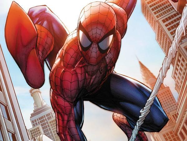 Comic Book Spider Man ... Mangaverse Spider Man Wallpaper