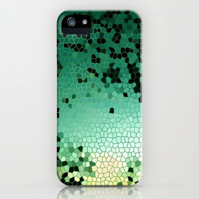 Broken Emerald iPhone Case by Catherine Holcombe | Society6