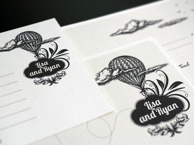 Wedding invitation set -
