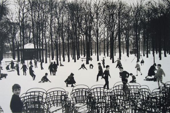 Premiere Niege au Luxembourg, 1955 - Edouard Boubat - Artists - Jackson Fine Art - Photography - Atlanta