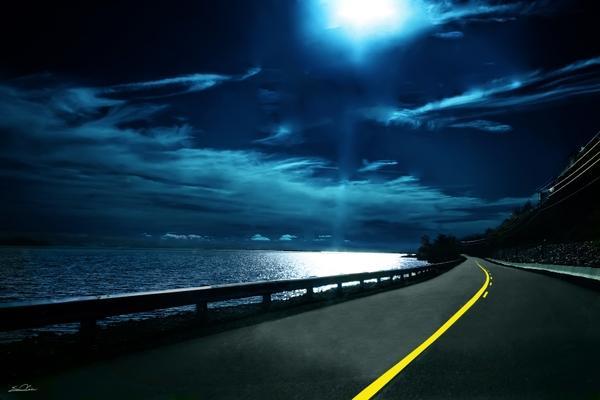 ocean,landscapes ocean landscapes night moonlight roads 3456x2304 wallpaper – ocean,landscapes ocean landscapes night moonlight roads 3456x2304 wallpaper – Environment Wallpaper – Desktop Wallpaper