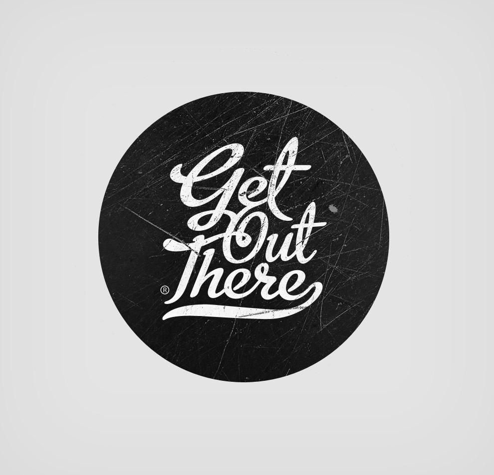 Get Out There (logo) - DavidSackville