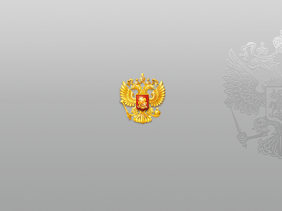 National Emblem for Russian President twitter userpic by Dmitri Joukov