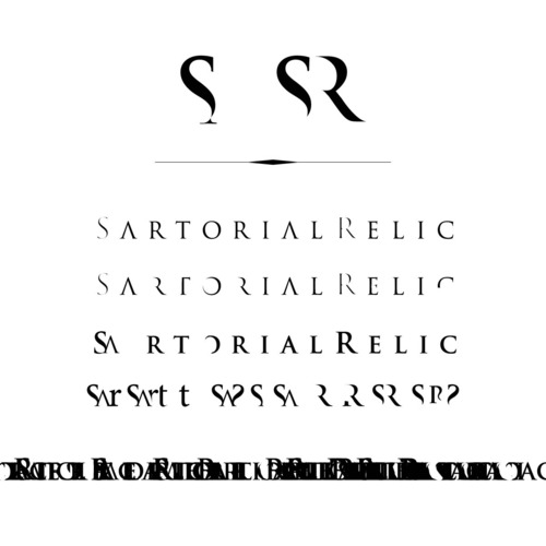 SartorialRelic - Still thinking logotype