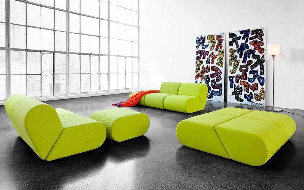 Modern Sofa Collection by Softline Simple modular sofa – Interior Design Ideas