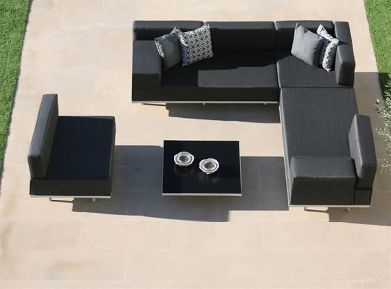luxury outdoor modular sofa for outdoor furniture design