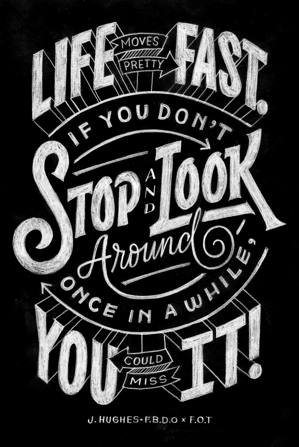 30 inspiring examples of lettering in graphic design #187773 on ...