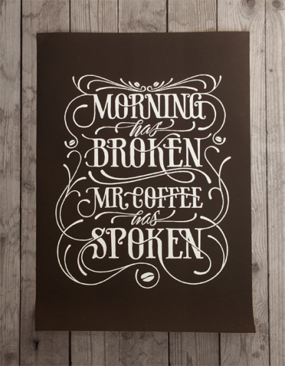 Designspiration — Coffee made me do it