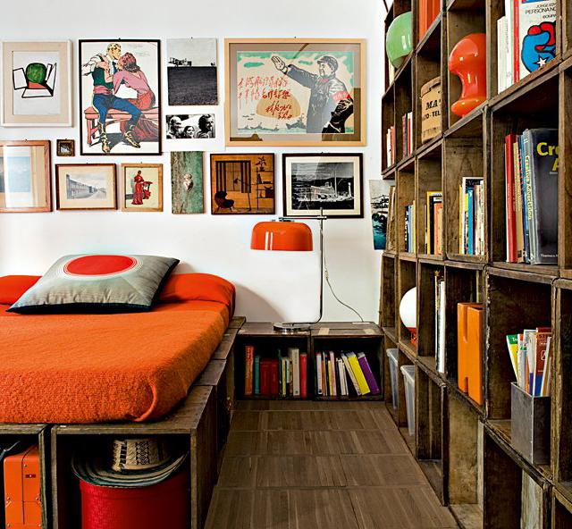 Fancy - Wood Urn Bedroom by Alessandro Capellaro