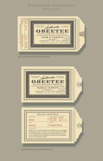 Designspiration — Obeetee Identity|Roseys 2010