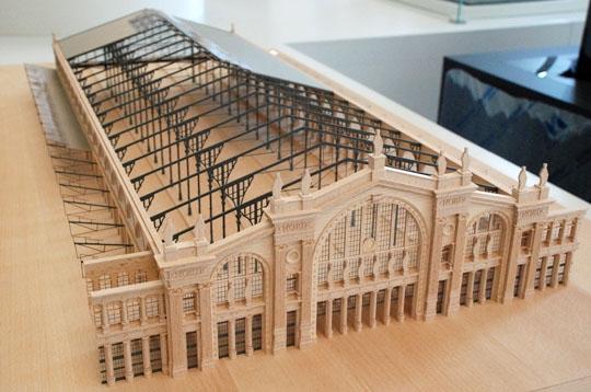 Gare du Nord - La Cité de l'architecture et du patrimoine sur L'Internaute Paris