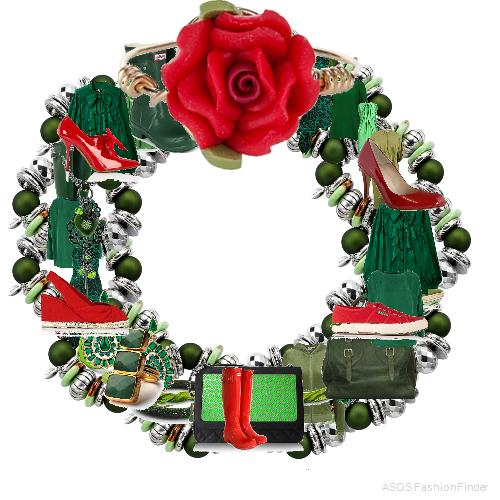 Christmas Wreath | Women's Outfit | ASOS Fashion Finder