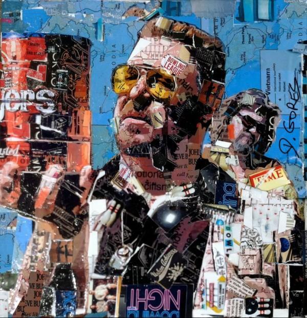 Stunning Collage Artworks by Derek Gores | 123 Inspiration