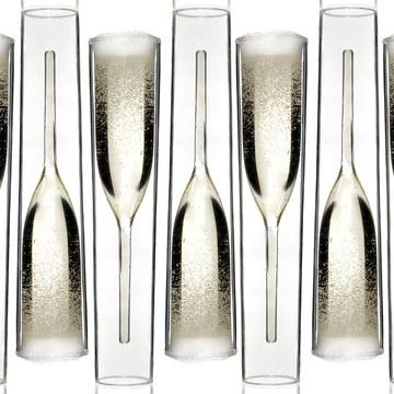 Fab.com | Inside Out Champagne Glasses